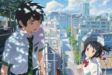 Your Name Anime, Scene