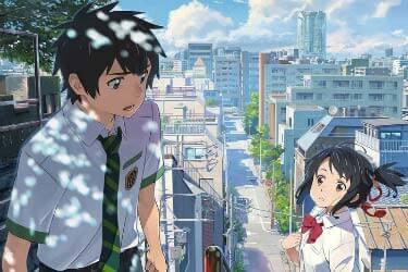 Your Name Anime, Scene